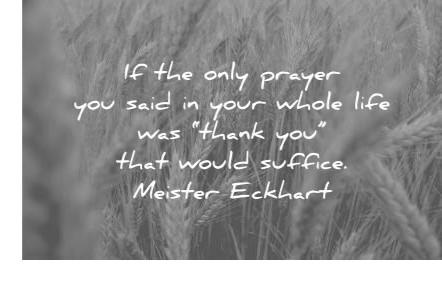 eckhart thank you