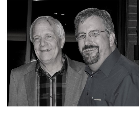 With Ken Medema, Feb 2009